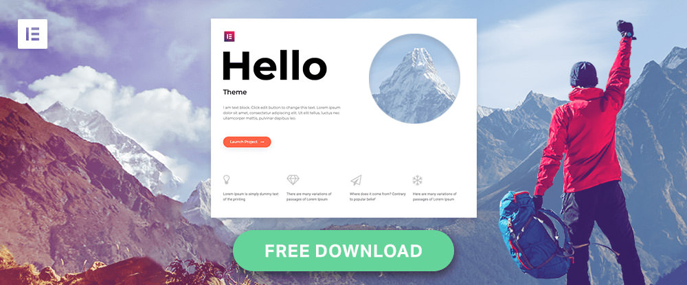 hello wordpress theme