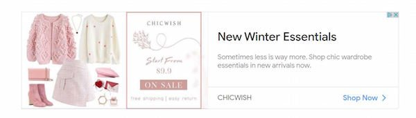 Banner Advertising - Chicwish Successful Banner Ad