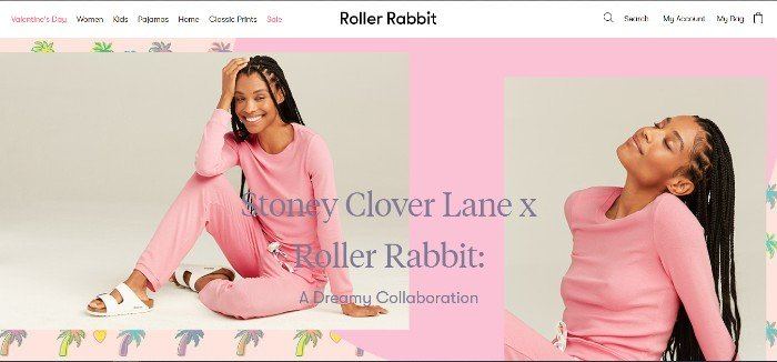 roller rabbit integrated marketing ecommerce sales ad campaign