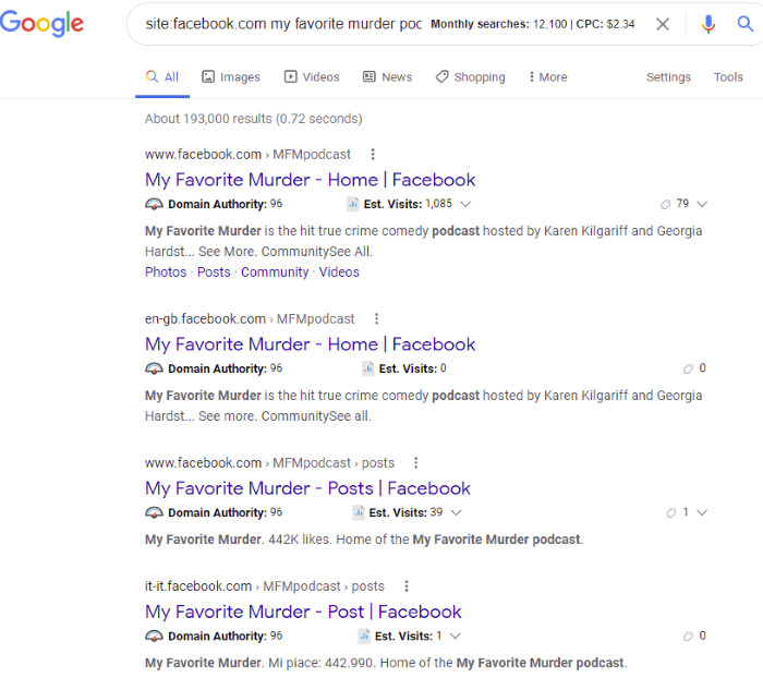 Facebook Search Operators to Try - Basic Boolean Facebook Search