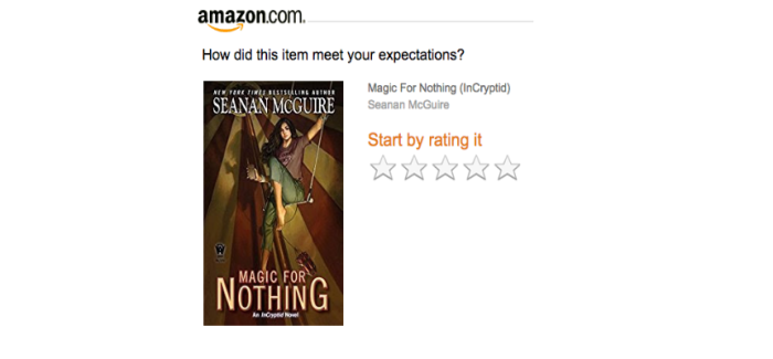 Amazon autogenerates email to request review for increased Amazon sales rank