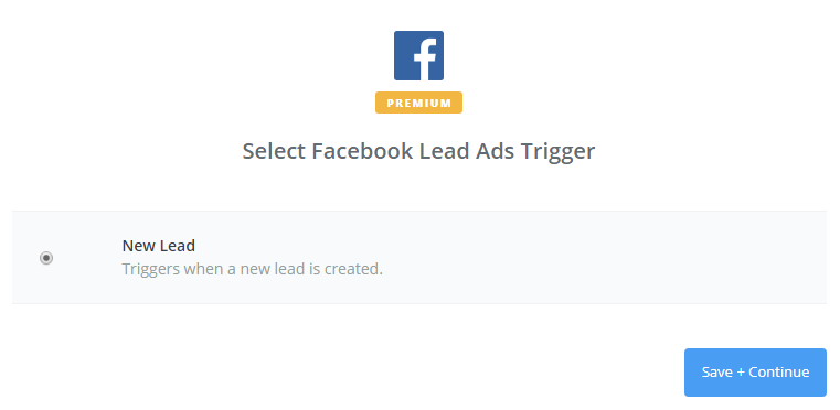 sms marketing connect fb lead ads and zapier step 2