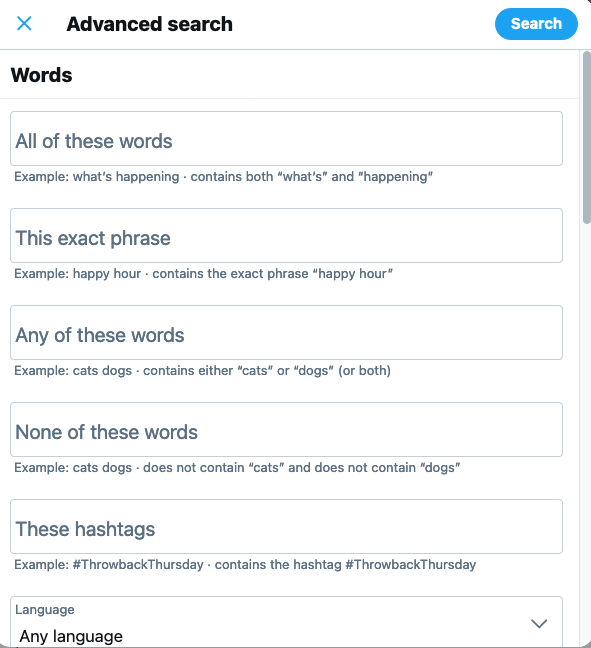How to Find Old Tweets - Use Twitter's Advanced Search