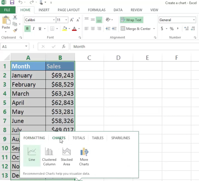 Excel Tricks to Use in Paid Ad Campaigns - Use Graphs to Add Visual Elements to Your Adds