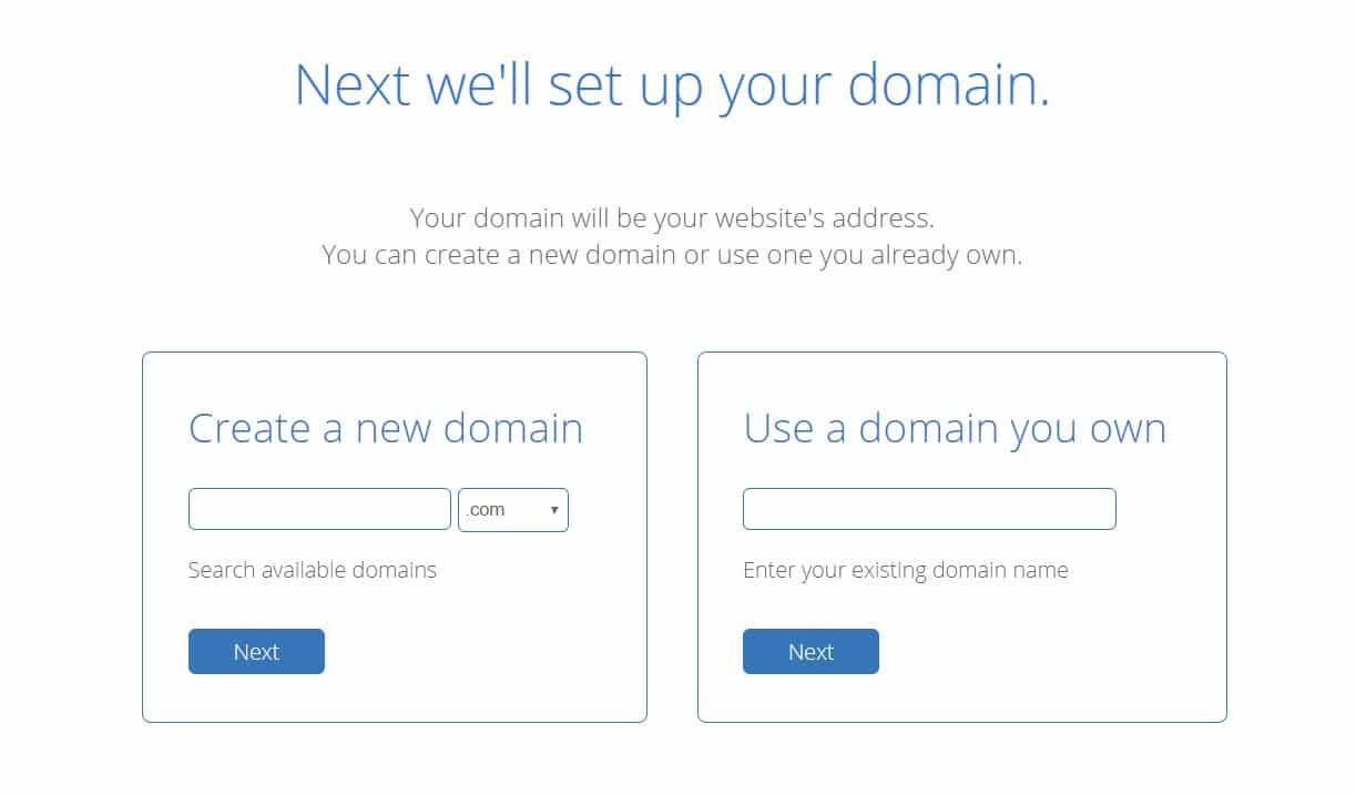 Bluehost Set Up Domain