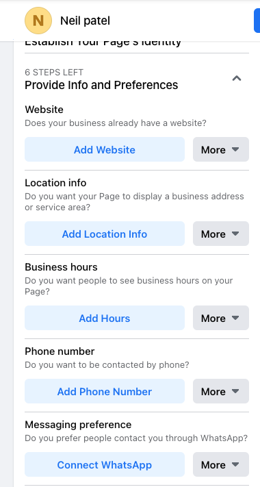 How to Create a Facebook Business Page - Enter Your Business Information