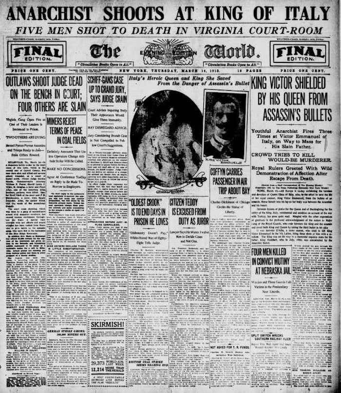 What Is Clickbait - Example of New York World from 1913