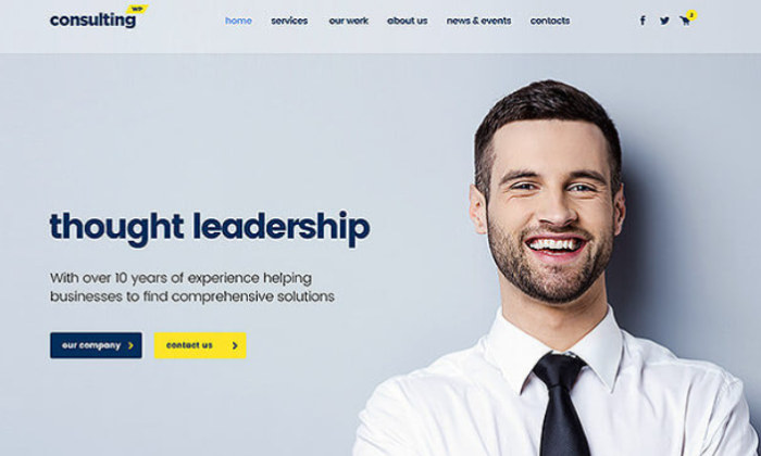 ConsultingWP Theme