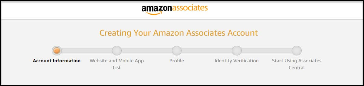 Creating Your Account
