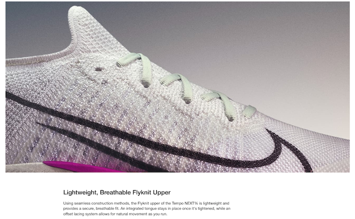 Nike product features