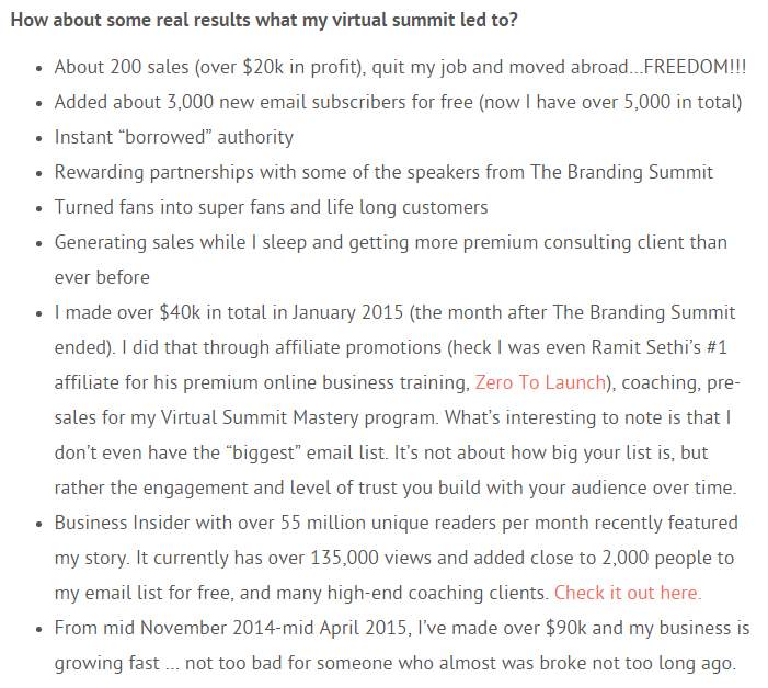 virtual summit results how to monetize a site with less than 1,000 daily traffic guide