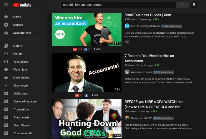 Marketing Tips for Accountants CPAs - Create YouTube Videos (an example)