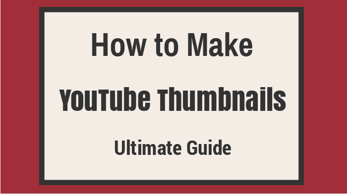 example of custom thumbnail to drive YouTube subscribers example