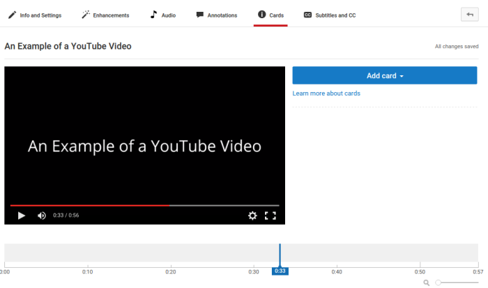 increase youtube subscribers with youtube cards