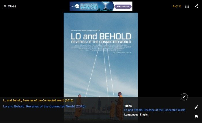Lo and Behold: Reveries of the Connected World, a technology documentary
