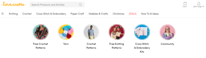 Examples of Niche Marketplaces for B2C Services - Love Crafts
