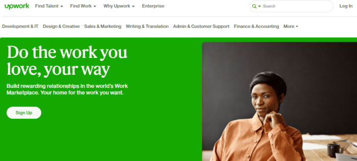 Examples of Niche Marketplaces for B2C Services - Upwork