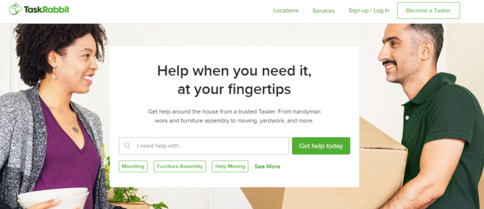 Examples of Niche Marketplaces for B2C Services - TaskRabbit