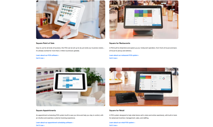 Square point of sale solutions for Best POS Systems