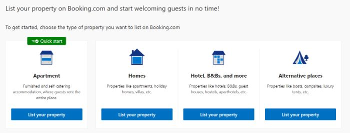 Booking.com list your property for google hotels